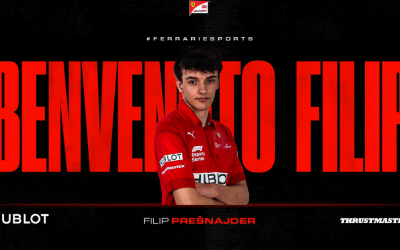 Seredčan Filip Prešnajder je prvým Slovákom, ktorý sa stal súčasťou oficiálneho tímu Ferrari v Esports šampionáte F1 2020