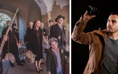 Mladý Seredčan Pierre Fabo vo svojom novom krátkometrážnom filme Ulička spracúva neľahkú tému židovských deportácií počas druhej svetovej vojny