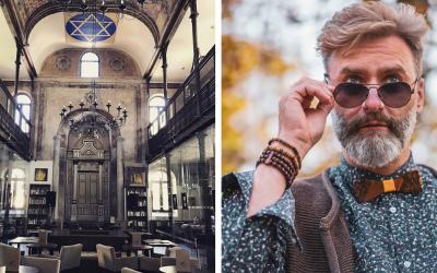 Jeden z najobľúbenejších čašníkov v Trnave je Seredčan Roman Delinčák. Momentálne pracuje v unikátnej kaviarni Synagóga Café