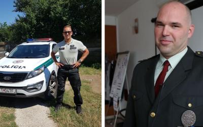 Policajti zo Serede a Šoporne zachránili majetok občana. Pomohli mu vymôcť železné nosníky zo zberných surovín