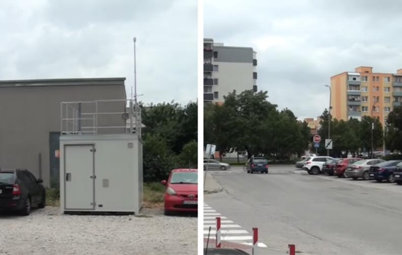 Na Cukrovarskej ulici je postavená nová monitorovacia stanica, ktorá bude v blízkej budúcnosti merať v Seredi kvalitu ovzdušia