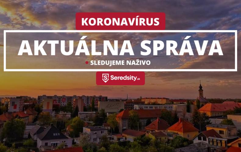 Na Slovensku pribudlo za včera 75 nových nakazených koronavírusom. Okres Galanta hlási najviac prípadov