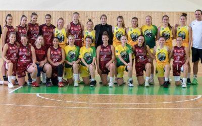Družstvo mladých žien U23 BK Lokomotívy Sereď odohralo svoje prvé prípravné zápasy