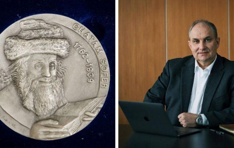 Mestu Sereď bola udelená jedinečná medaila na dôkaz toho, že nezabúda na holokaust