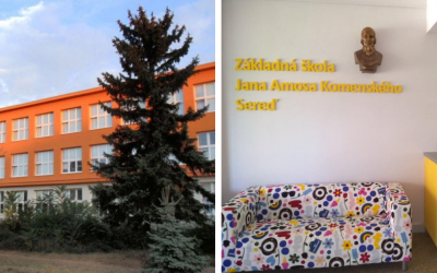 ZŠ Jána Amosa Komenského v Seredi má šancu vyhrať 10 000 eur v novej šou RTVS Naj škola. Hlasovať môžete do 13. septembra 2020