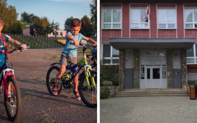 Ministerstvo školstva spustilo kampaň Do školy na bicykli 2020. Tento rok sa zapojila aj Základná škola kráľa Svätopluka v Šintave