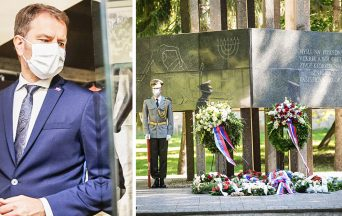 Pri príležitosti Dňa obetí holokaustu a rasového násilia navštívil Sereď aj premiér Igor Matovič