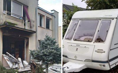 Šialené! Najprv mal podpáliť časť domu v Seredi a potom aj karavan, ktorý stihol obliať benzínom