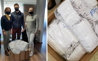 Spoločnosť Sedita darovala Fakultnej nemocnici v Trnave 1000 rúšok a tej v Galante ďalších 450 kusov