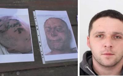VIDEO: Polícia vyhlásila pátranie po útočníkovi Ľubošovi, ktorý dobil a zapálil dôchodcu. Hľadá ho celé Slovensko