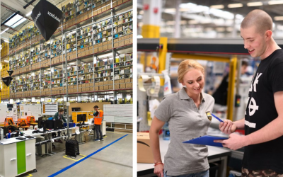 Amazon na Slovensku zvyšuje celkovú pracovnú silu na 3 000 stálych pracovných miest