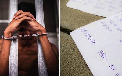 """Príbeh drogovo závislého Seredčana v sérii """"Mamička prepáč"""" pokračuje. Druhý list už píše mame z väzenia"""