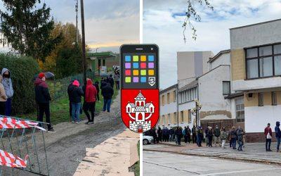Vďaka Somvrade.sk dokážu Seredčania pomôcť nadmernému preťaženiu odberových miest. Stačí len pár klikov