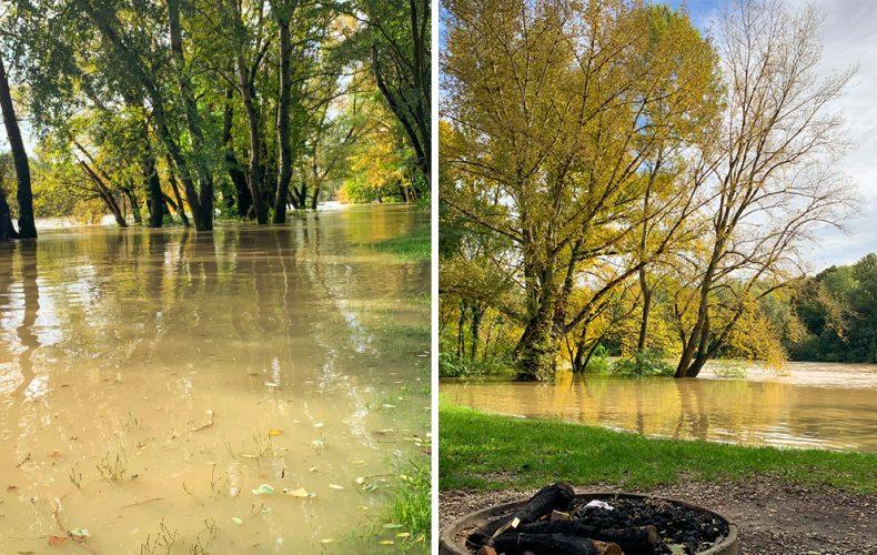 Rieka Váh sa v Seredi po daždivých dňoch vyliala z koryta. Hrozí nejaké nebezpečenstvo občanom?