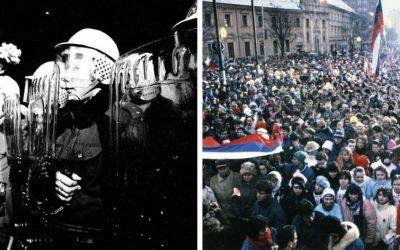 Čo sa objavilo v zahraničnej tlači v novembri 1989? Dnes si pripomíname 31 rokov od vypuknutia Nežnej revolúcie