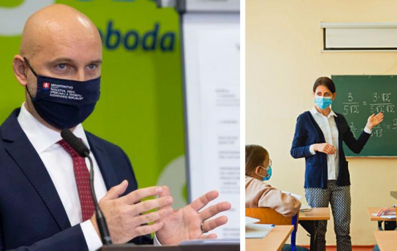 Pôjdu deti zo Serede do škôl už 30. novembra? Minister Gröhling chce otvoriť školy