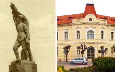 Pred mestským úradom by mala opäť stáť socha Legionára. Budeme môcť obdivovať jej novú verziu