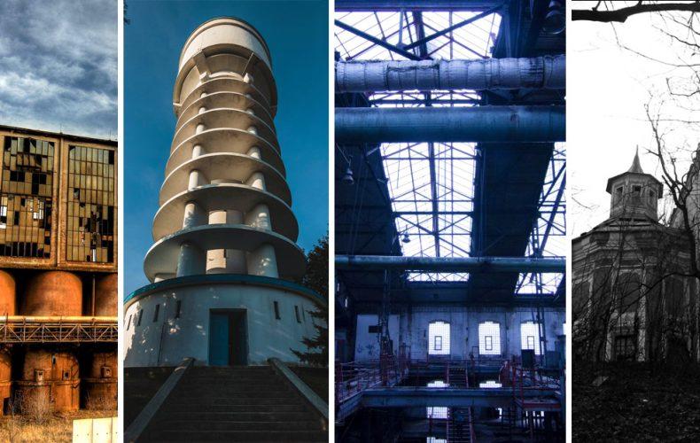 Opustené budovy sú plné lásky. Pozrite sa na monumentálne technické pamiatky z okolia Serede