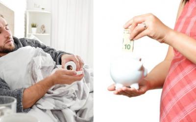Od januára stúpne materské, nemocenské aj ošetrovné. O koľko eur si prilepšíme?