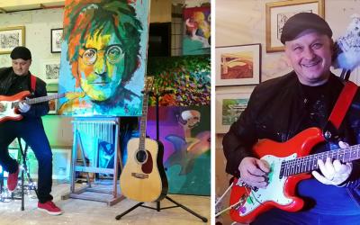 Seredský gitarista Rado Palkovič nahral novú vianočnú skladbu. V čom sa líši od bežnej vianočnej hudby?