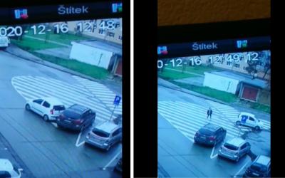 AKTUÁLNE: Poznáte majiteľa tohto auta? Narazil do druhého auta a zmizol. Majiteľ hľadá vinníka