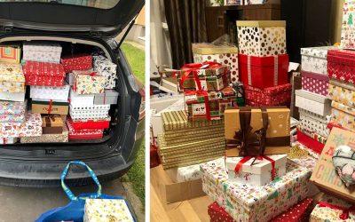 Dobrosrdeční Seredčania priniesli pre seniorov už viac ako 100 krabíc plných lásky. Aj vďaka vám tak zažijú krásne vianočné sviatky