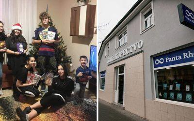 Dobrí ľudia v Seredi pomohli deťom v detskom domove vďaka vianočnej kampani Panta Rhei