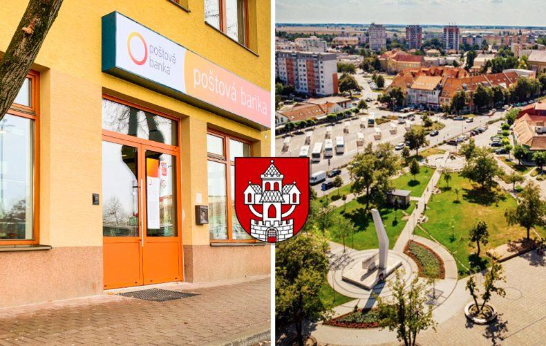 Nová pobočka Poštovej banky sa v Seredi otvorí už o niekoľko dní. Financie Slovákov spravujú takmer 30 rokov