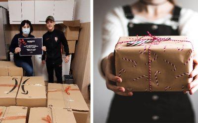 Zamestnanci logistického centra Amazon v Seredi vyzbierali oblečenie pre ľudí v núdzi. Kam poputujú veci tentokrát?