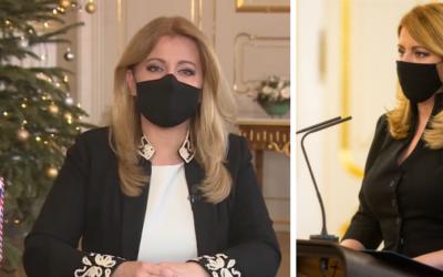 Novoročný príhovor prezidentky SR Zuzany Čaputovej. Bol to výnimočný a ťažký rok