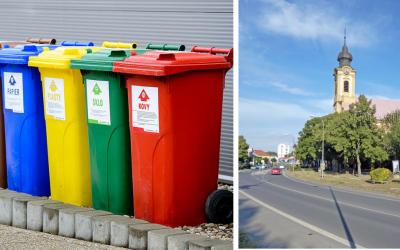 Triedený odpad a komunálny odpad v Seredi. Prinášame vám prehľad zberu a cien na rok 2021