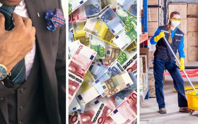 Toto sú najlepšie a najhoršie platené povolania na Slovensku za rok 2020. Nájdete sa medzi nimi?