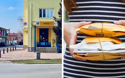 Pošta v Seredi bude pre zhoršujúcu sa pandemickú situáciu cez víkend zatvorená
