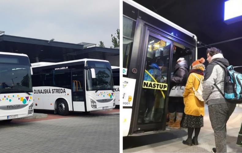 Zmena v cestovných poriadkoch platná od 18. 1. 2021. Ako sa zmení cestovanie v Seredi?