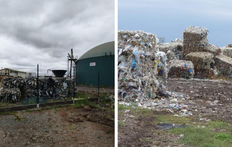 Polícia vyšetruje nelegálnu skládku plastového odpadu v Seredi, v časti Malý háj. Odpad sa na skládku naďalej naváža