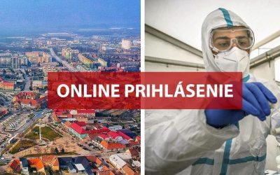 Zaregistrujte sa online na antigénové celoplošné testovanie 23. a 24. januára 2021 v Seredi (NÁVOD)