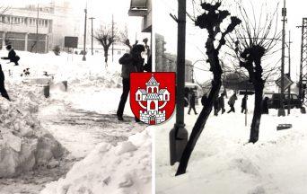 Pripomeňte si, ako vyzerala snehová kalamita 12. januára 1987 v Seredi na jedinečných fotografiách