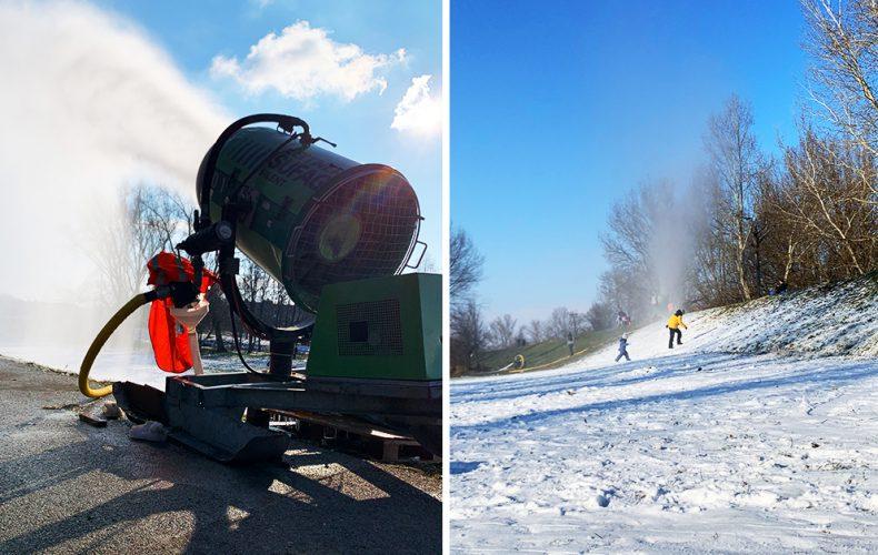 Starosta Dolnej Stredy pripravil pre detičky prekvapenie v podobe snehu. Deti, chystajte sánky a boby