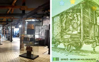 Múzeum holokaustu v Seredi uviedlo suvenírovú bankovku. Limitovaná edícia pripomína časť našej tragickej histórie