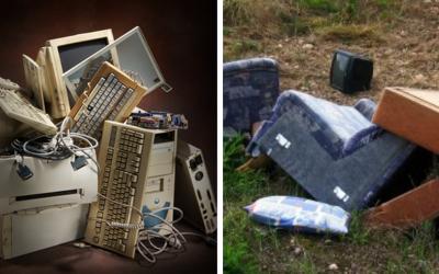 Jarný zber elektroodpadu a objemného odpadu sa v Seredi začína od 1. marca 2021