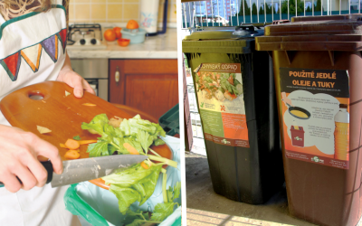 V Seredi separujeme kuchynský bioodpad. Čo patrí do hnedých nádob a čo zasa nie?
