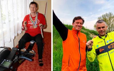 Nevidomý Šintavčan Marián Tóth získal druhé miesto na virtuálnych Majstrovstvách ČR v jazde na veslárskom trenažéri 2021