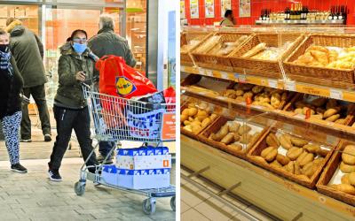 Zákaz vychádzania ovplyvní aj potravinové reťazce. Seredčania, pozrite sa, ako sa zmenia otváracie hodiny