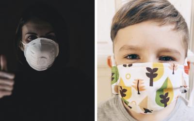 Vláda schválila nosenie respirátorov FFP2. Aký je rozdiel medzi respirátorom a rúškom?