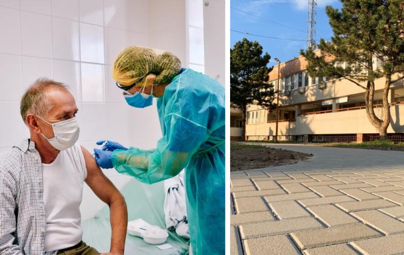 Na poliklinike v Seredi je mnoho voľných termínov na očkovanie pre ľudí nad 70 rokov