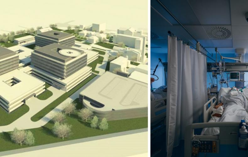 O dva roky sa v Trnave začne stavať zelená a digitálna nemocnica. Ide o zariadenie 21. storočia