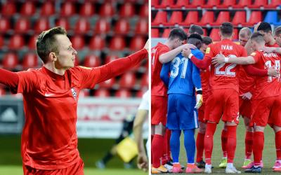 ŠKF Sereď zvíťazila pod vedením nového trénera nad Ružomberkom. Víťazný gól strelil Martin Slaninka