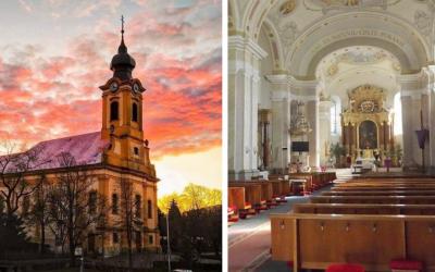 Verejné sväté omše sú v Seredi obnovené. Pozrite si Poriadok bohoslužieb v kostole sv. Jána Krstiteľa v Seredi