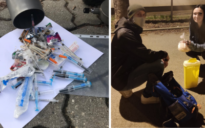 Poznáte v Seredi miesto, ktoré by potrebovalo vyčistiť od striekačiek? Združenie STORM vyráža do ulíc