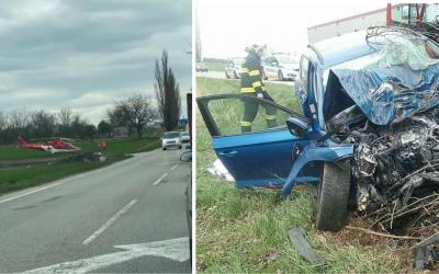 Za obcou Šintava dnes prišlo k tragickej nehode. Na mieste tam zahynul 45-ročný muž